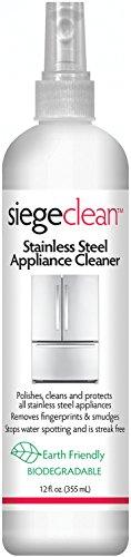 (Siege Stainless Steel Appliance Cleaner 12 fl oz)