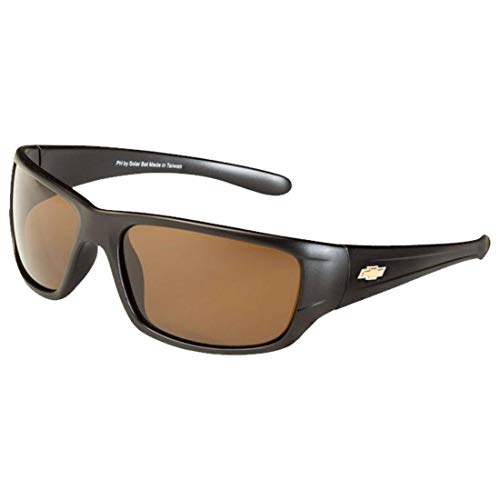 Chevrolet Polarized Sunglasses El Series Sports Style Model CBD2 by Solar Bat ()