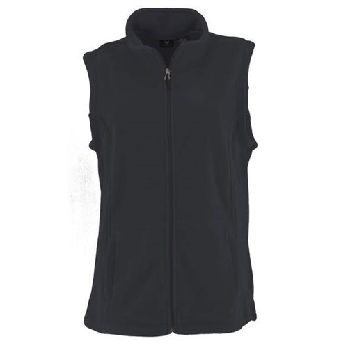 White Sierra Women's Mountain Vest (Black, Medium)