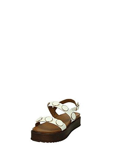 INUOVO 7371 Sandalia Mujer Color blanco