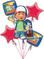 Handy Manny Balloon Bouquet Birthday Party Decoration