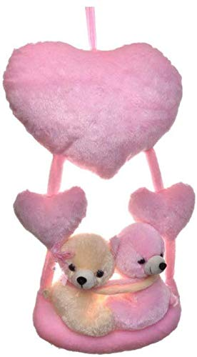 Nihan Enterprises   Pink Hanging Couples Gift Teddy Bear 20 inch