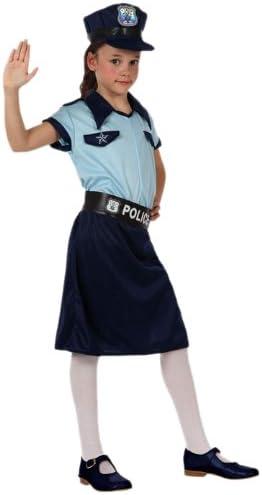 Atosa - Disfraz de policía para niña, talla 3-4 años (10947 ...