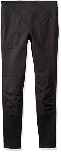 (Carhartt Women's Force Stretch Utility Legging (Regular and Plus Sizes), Black, Medium Tall)