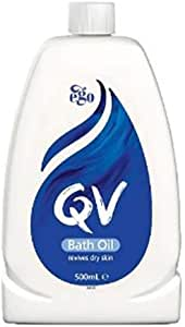 #MC QV Bath Oil 500ML-Helps Revive Dry Skin in The Bath. Whole-Body Moisture Replenishment Helps to Restore Your Skin'S Natural Suppleness and Healthy Glow.
