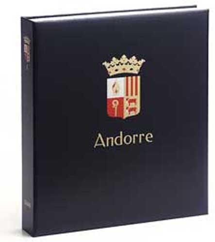 DAVO 1531 Luxus Briefmarken-Album Andorra (Französisch) I 1931-2009