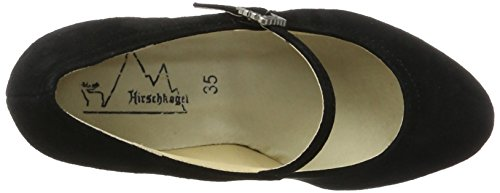 Hirschkogel Women's 3591505 Closed Toe Heels Black (Schwarz 002) lhHHgBO1iw