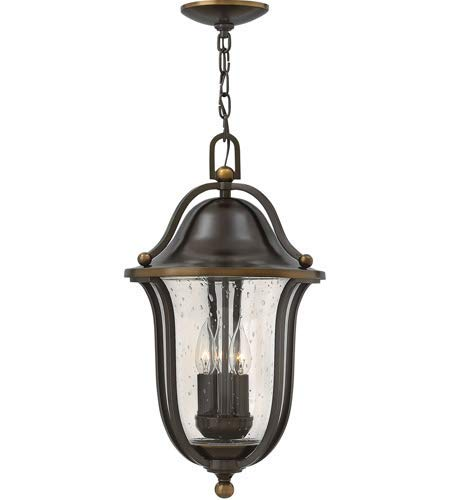 - Outdoor Pendant 3 Light Fixtures with Olde Bronze Finish Solid Brass Material Candelabra 11