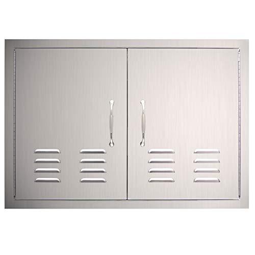 YXHARD Outdoor Kitchen Door, 304 Stainless Steel 30
