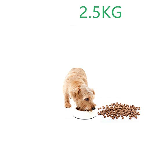 2.5Kg Loaded Excellent Natural Pet Dog Food Taste Diversified Small Dog Puppies Food,Beauty Hair Function,Vegetable Flavor