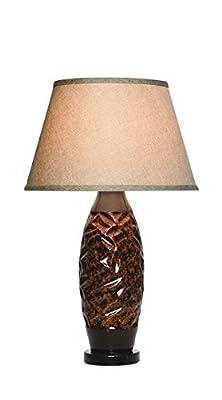 Anthony California Table Lamp, 28-Inch, Cedar Granite