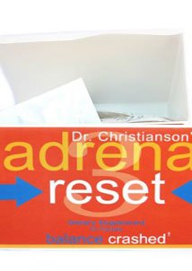 Adrenal Health Pack - Crashed for Weight Loss & Heal Adrenals on the Adrenal Reset Diet - 60 Count by Dr Christianson