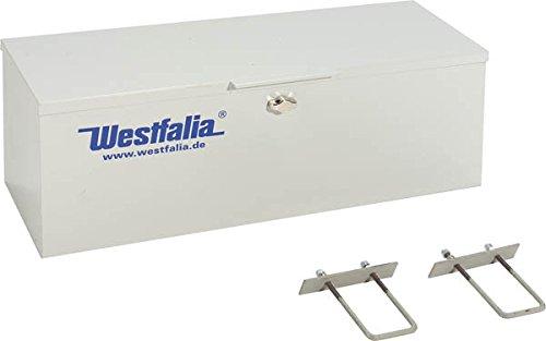 Metall Staubox mit Metallhaltern, abschließbar