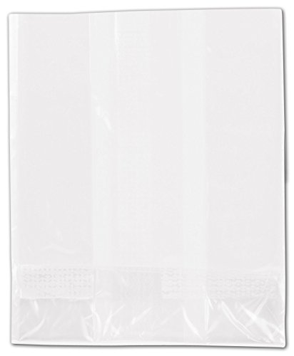 NatureFlex TM Biodegradable Clear Cello Bags, 3 x 3 3/4'' (1000 Bags) - BOWS-69-00D by Miller Supply Inc