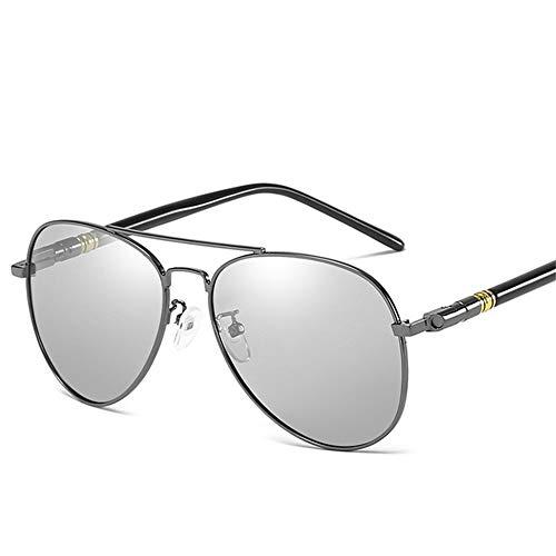 y día de de Gafas sol de retro doble sol Gafas color A polarizadas de NIFG noche de wIqXYY0