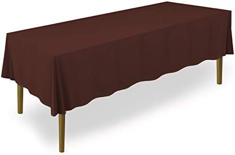"60/"" x 102/"" Premium Tablecloth for Wedding//Banquet//Restaurant R Lann/'s Linens"