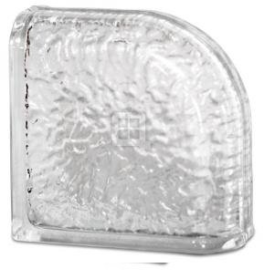 Quality Glass Block 8 x 8 x 4 IceScapes Encurve Glass Block
