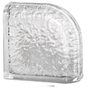 8 x 8 x 4 IceScapes Encurve Glass Block
