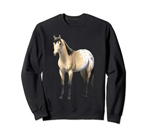 Buttermilk Buckskin Appaloosa Quarter Horse Sweatshirt ()