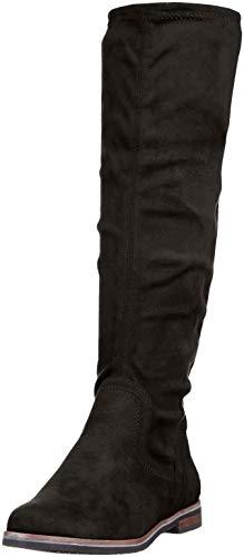25507 Black Black Ankle 44 Stretch Boots Women's Caprice B5AqP
