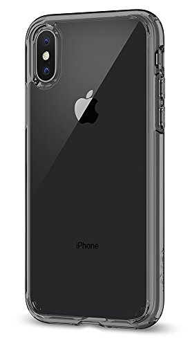 Spigen Ultra Hybrid iPhone X Case with Air Cushion Technology and Hybrid Drop Protection for Apple iPhone X (2017) - Space Crystal