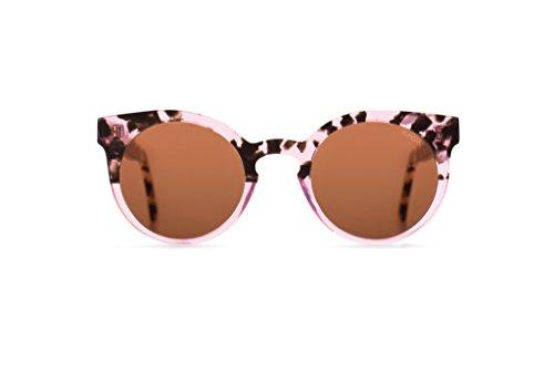 Komono KOM-S2022 Handcrafted Italian Acetate Frame Lulu Rose Dust - Sunglasses Lulu
