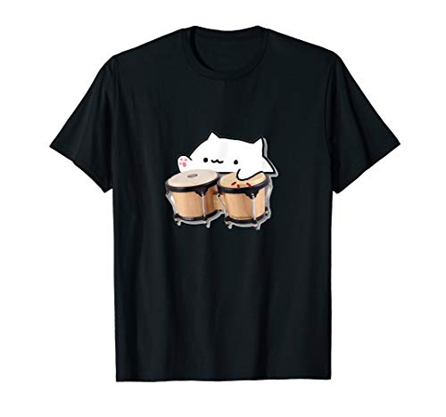 Funny Bongo cat t-shirt & more meme