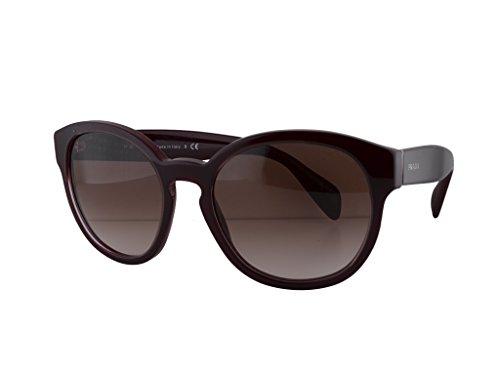 dd86556794645 Prada SPR18R Sunglasses Opal Bordeaux w Brown Gradient UAN-0A6 SPR 18R For  Women  Amazon.ca  Clothing   Accessories