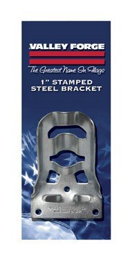 Valley Forge SB3-1 1'' Stamped Steel Flag Pole Bracket by Valley Forge