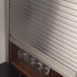 500 Millimeters, 1,210 Millimeters CK Kitchens Metallic tambour door kit