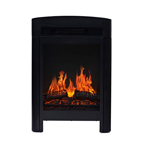 Cheap ALUS- Electric Fireplace Heater Villa Design with Independent Fireplace European Household Mobile Fireplace Core Simulation Fire Heater Black Friday & Cyber Monday 2019