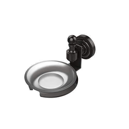 Allied Brass RD-32-ORB Solid Brass Decorative Soap Dish, Oil Rubbed Bronze by Allied Brass by Allied Brass