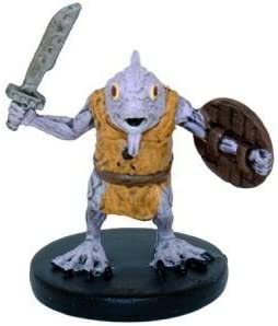 Amazon Com D D Minis Kuo Toa Fighter 9 Rage Of Demons Toys Games Their stout, stocky bodies are covered in slippery blue or purple scales, with clawed, webbed feet and black nails. d d minis kuo toa fighter 9 rage of demons