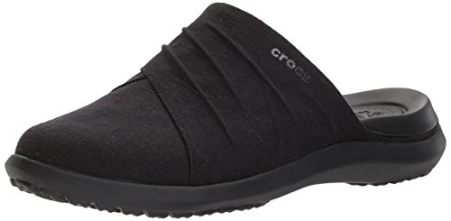Crocs Dames Capri Mule Zwart / Zwart