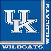 (Club Pack of 240 NCAA Kentucky Wildcats 2-Ply Tailgating Party Lunch Napkins)