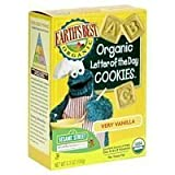 Earth's Best Organic Sesame Street Letter of the Day Cookies, Very Vanilla, 5.3-Ounce Box (Pack of 6) ( Value Bulk Multi-pack)