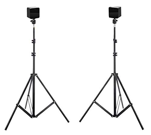 New! Hadar- VR Tripod Stand - HTC Vive Compatible Sensor Stand and Base Station for Vive Sensors or Oculus Rift Constellation (2-Pack)