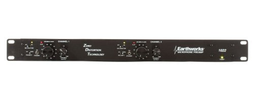 Earthworks 1022 | Zero Definition Technology 2-Channel Preamp (1 Rack Space) by Earthworks