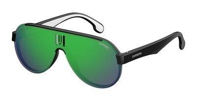 Sunglasses Carrera 1008 /S 0807 Black / Z9 green multilaye - Retailers Carrera