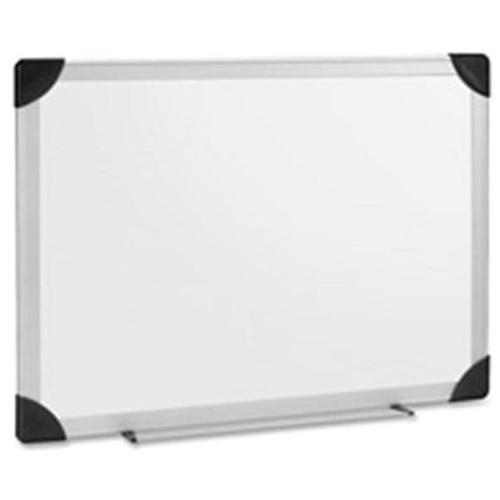 Lorell(R) Aluminum Frame Dry-Erase Board, 96in. x 48in.