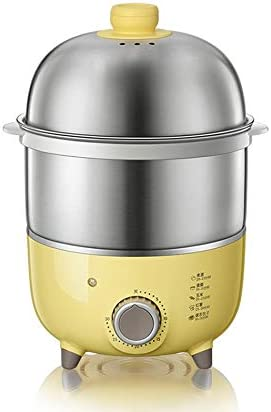 WALNUTA The Automatic Power-off of The Egg Cooker The Household Mini Egg Steamer Stainless Steel Timing Artifact