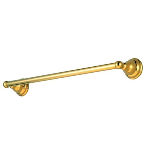 - Kingston Brass BA5562PB Royale 18-Inch Towel Bar, Polished Brass