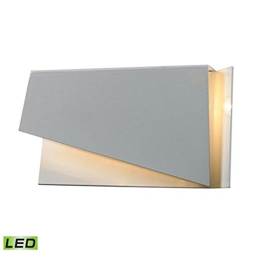 ELK 50012/3, Forma Glass Wall Sconce Lighting, 1 Light LED, Brushed Nickel