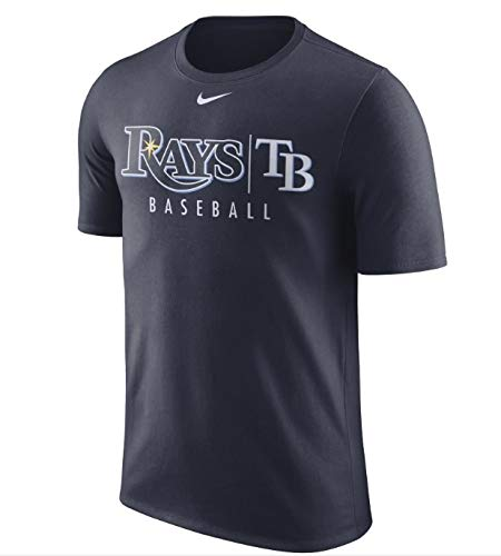 Nike Men's Tampa Bay Rays Practice T-Shirt Small ()