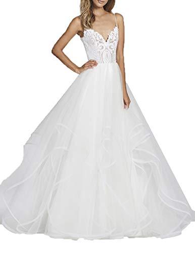 Special Bridal - Vestido de novia - Sin mangas - Mujer Stil13 Elfenbein