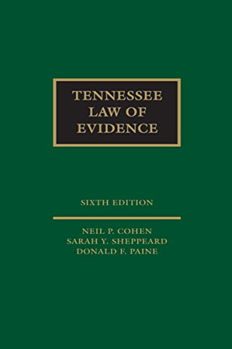 Tennessee Law of Evidence
