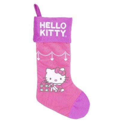 HELLO KITTY Pink Stocking