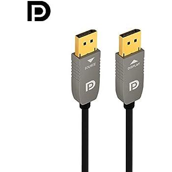 Amazon Com Ruipro 4k Fiber Displayport Cable 50 Feet