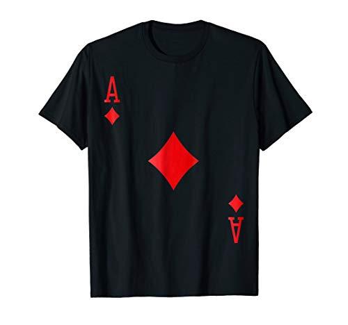 Ace of Diamonds - Card Deck Halloween Group Costume T-Shirt