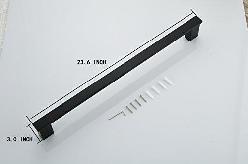 Klabb B58 4-Piece ss304 Bathroom Hardware Accessory Set with 24'' Towel Bar -Matte Black by Klabb (Image #1)